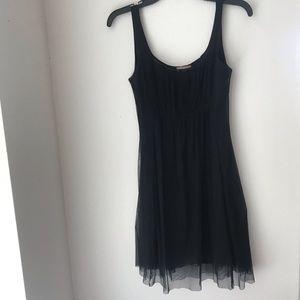 Dresses & Skirts - Layered Mesh Black Dress